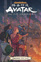 Image: Avatar the Last Airbender: Imbalance Part Three SC  - Dark Horse Comics