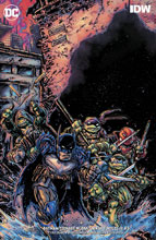 Image: Batman / Teenage Mutant Ninja Turtles III #3 (variant cover - Kevin Eastman) - DC Comics/IDW
