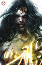 Image: DCeased #3 (variant card stock cover - Francesco Mattina) - DC Comics
