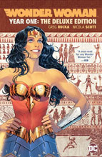 Image: Wonder Woman: Year One Deluxe Edition HC  - DC Comics