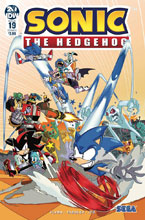 Image: Sonic the Hedgehog #19 (cover A - Jampole) - IDW Publishing