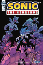 Image: Sonic the Hedgehog #19 (cover B - Wells Graham) - IDW Publishing