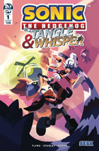 Image: Sonic the Hedgehog: Tangle & Whisper #1 (cover B - Fourdraine) - IDW Publishing