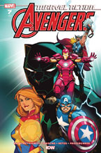 Image: Marvel Action: Avengers #7 (incentive cover - Harvey) (10-copy) - IDW Publishing