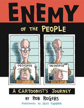 Image: Enemy of the People: A Cartoonist's Journey HC  - IDW Publishing