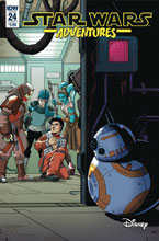 Image: Star Wars Adventures #24 (cover A - Levens) - IDW Publishing