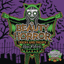 Image: Beauty of Horror: Tricks & Treats Halloween Coloring Book SC  - IDW Publishing