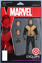 Image: Powers of X #1 (variant Action Figure cover - Christopher) - Marvel Comics