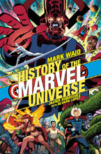 Image: History of the Marvel Universe #1 (variant cover - Rodriguez) - Marvel Comics