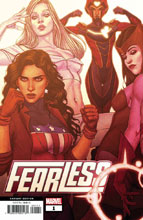 Image: Fearless #1 (variant Connecting cover - Frison) - Marvel Comics