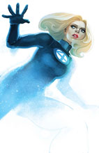 Image: Invisible Woman #1 (variant cover - Hans) - Marvel Comics