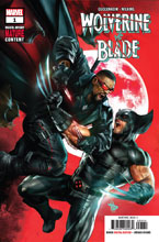 Image: Wolverine vs. Blade Special #1  [2019] - Marvel Comics