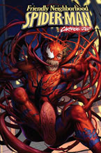 Image: Friendly Neighborhood Spider-Man #9 (variant Carnage-ized cover - Woo Dae Shim) - Marvel Comics