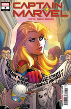Image: Captain Marvel #8 - Marvel Comics
