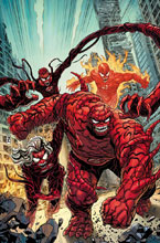 Image: Fantastic Four #12 (variant Carnage-ized cover - Zircher) - Marvel Comics