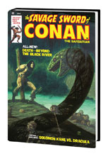 Image: Savage Sword of Conan Original Marvel Years Omnibus Vol. 02 HC  (Starlin variant cover) - Marvel Comics