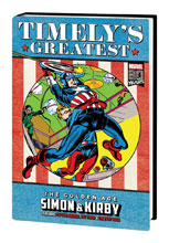 Image: Timely's Greatest: Golden Age Simon & Kirby Omnibus HC  (Direct Market cover - Jack Kirby) - Marvel Comics