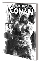 Image: Savage Sword of Conan: The Cult of Koga Thun Black and White SC  - Marvel Comics