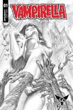 Image: Vampirella Vol. 05 #1 (incentive cover - Ross B&W) (50-copy) - Dynamite