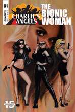 Image: Charlie's Angels vs. Bionic Woman #1 (cover C - Lesser) - Dynamite