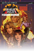 Image: Charlie's Angels vs. Bionic Woman #1 (Atlas edition) (signed) - Dynamite