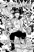 Image: Bettie Page: Unbound Vol. 03 #4 (incentive cover - Williams B&W) (20-copy) - Dynamite