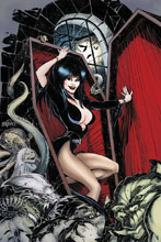 Image: Elvira: Mistress of the Dark #12 (incentive cover - Mandrake virgin) (25-copy) - Dynamite
