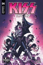 Image: Kiss End #4 (cover B - Brown) - Dynamite