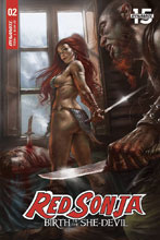 Image: Red Sonja: Birth of the She-Devil #2 (cover A - Parrillo) - Dynamite