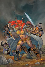 Image: Red Sonja #6 (variant cover - Conner virgin) - Dynamite
