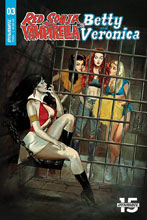 Image: Red Sonja and Vampirella Meet Betty and Veronica #3 (cover A - Dalton) - Dynamite
