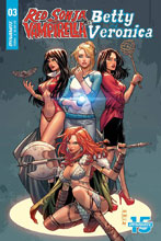 Image: Red Sonja & Vampirella Meet Betty & Veronica #3 (cover C - Braga) - Dynamite