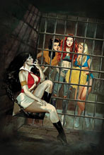 Image: Red Sonja & Vampirella Meet Betty & Veronica #3 (variant cover - Dalton virgin) - Dynamite