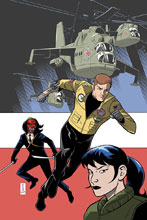 Image: Six Million Dollar Man #5 (incentive cover - Hahn virgin) (10-copy) - Dynamite