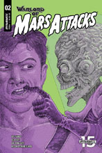Image: Warlord of Mars Attacks #2 (cover C - Villalobos) - Dynamite