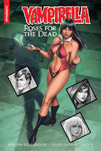 Image: Vampirella Roses for Dead HC  (signed) - Dynamite