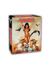 Image: Vampirella 50th Anniversary Ultra Trading Cards Box  (12 Packs) - Dynamite