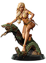 Image: Women of Dynamite Statue: Sheena, Queen of the Jungle  (Campbell) - Dynamite