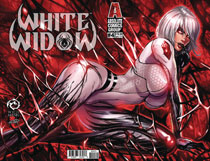 Image: White Widow #4 (cover C - Wichmann Lenticular) - Absolute Comics Group / Red Gi