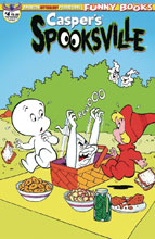 Image: Casper's Spooksville #4 (variant cover - Retro Animation) - American Mythology Productions