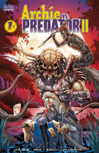 Image: Archie vs. Predator II #1 (cover F - Tucci) - Archie Comic Publications