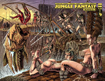 Image: Jungle Fantasy Annual 2019  (variant cover - Vixens wraparound) - Boundless Comics
