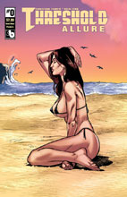 Image: Threshold: Allure #0 (variant cover - Beach Babes Pandora) - Boundless Comics
