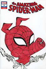 Image: Amazing Spider-Man #1 (DFE signed - Rmrk Hidalgo Sketch) - Dynamic Forces