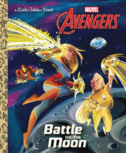 Image: Avengers Little Golden Book: Battle on Moon  - Golden Books