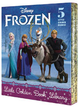 Image: Disney Little Golden Book Library: Frozen  - Golden Books