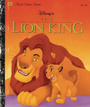 Image: Disney Lion King Big Golden Book  - Golden Books