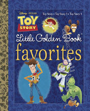 Image: Disney/Pixar Little Golden Book Favorites: Toy Story  - Golden Books