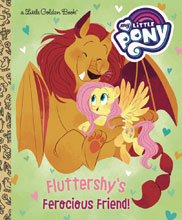 Image: My Little Pony Little Golden Book: Fluttershy's Ferocious Friend  - Golden Books