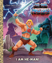 Image: I Am He-Man Little Golden Book  - Golden Books